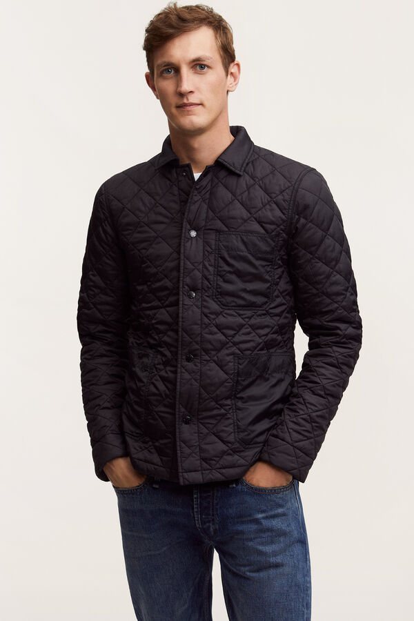 MAO JACKET Quilted Nylon - Slim Fit