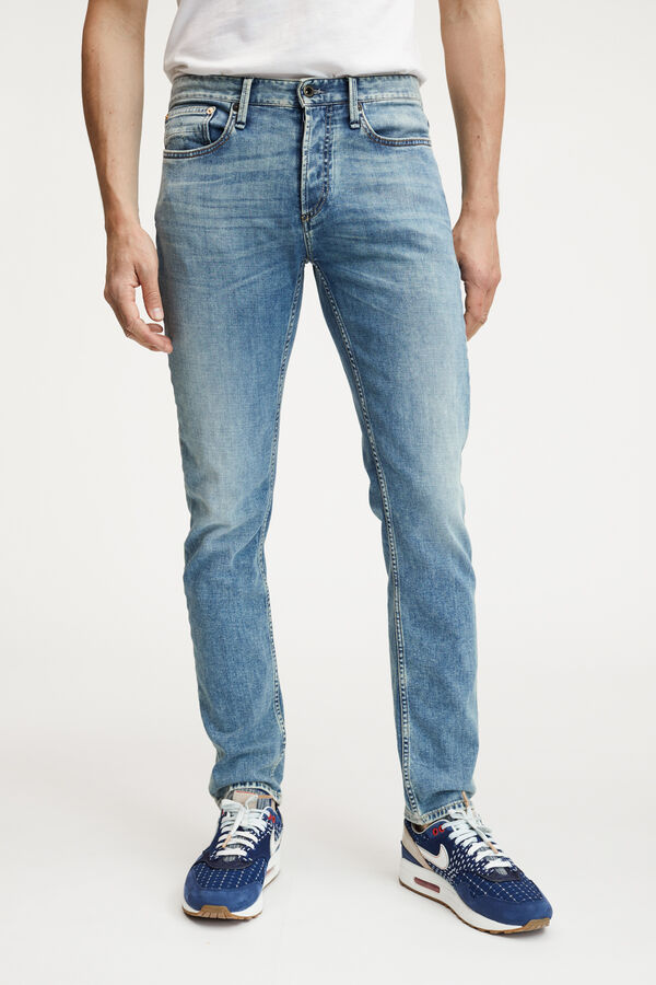 RAZOR Left-hand Worn Indigo Denim - Slim Fit
