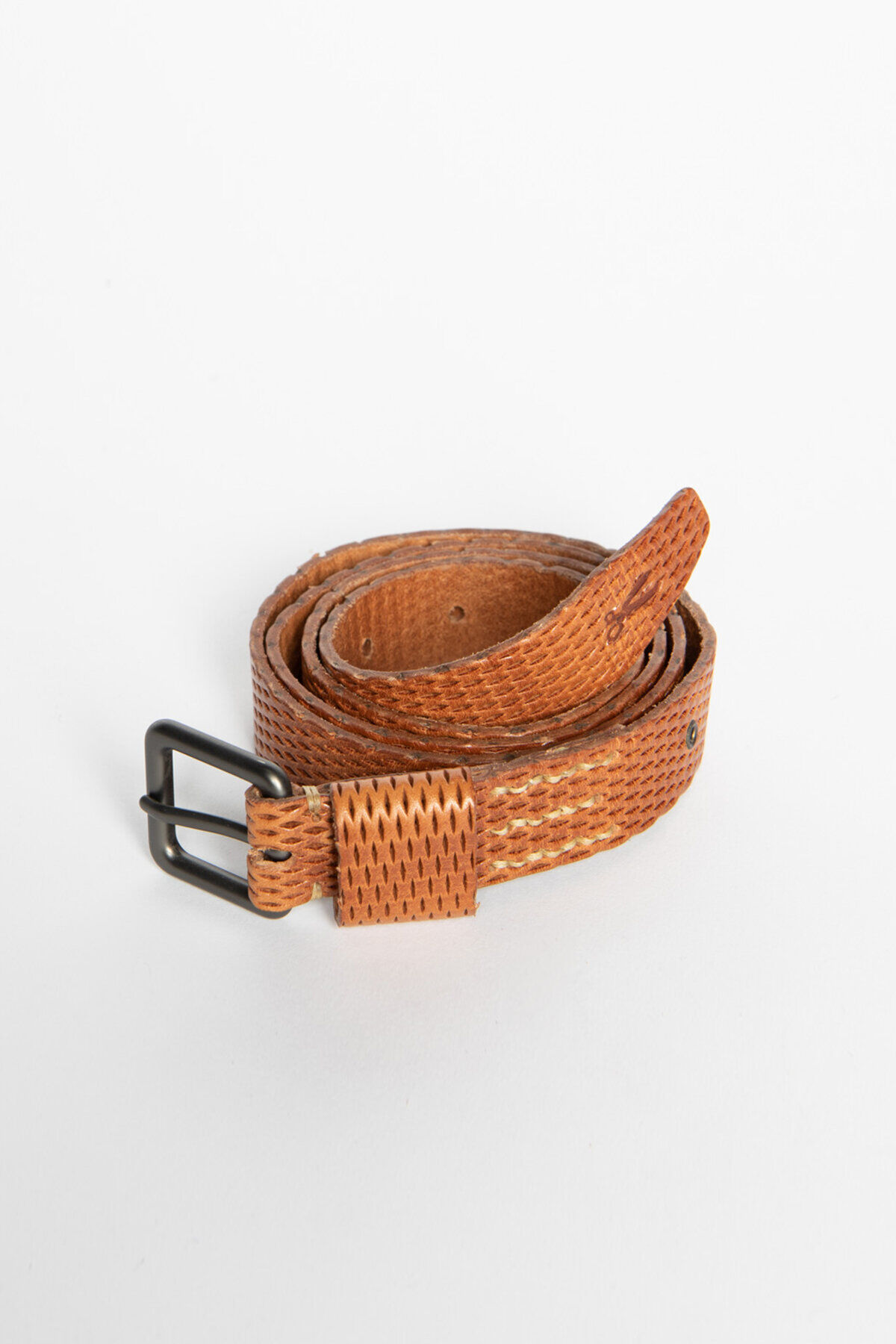 25MM BELT Perforated Leather