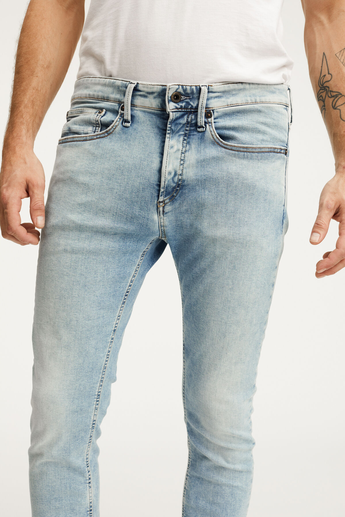 BOLT Summer Indigo Denim - Skinny Fit
