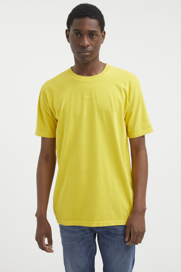 DENHAM LOGO TEE Cotton Jersey - Regular Fit