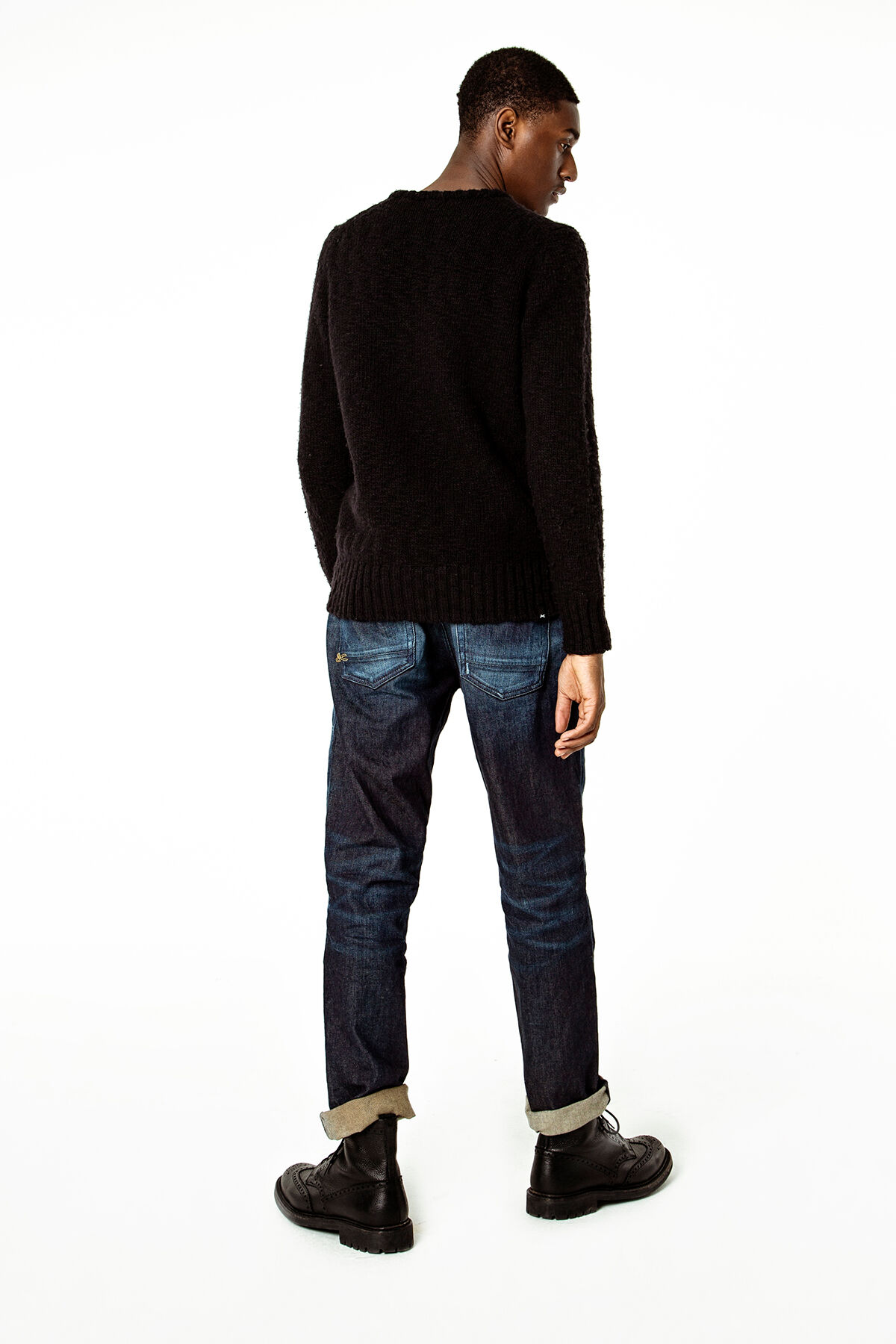 FORGE Natural Fade Indigo Denim - Relaxed Fit
