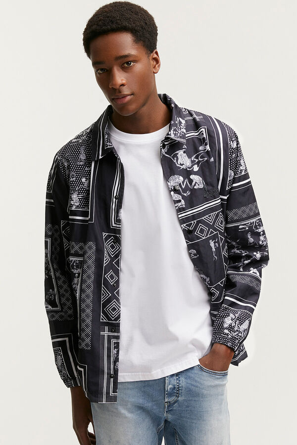 BARNSLEY JACKET Trans-seasonal Printed Jacket - Regular Fit