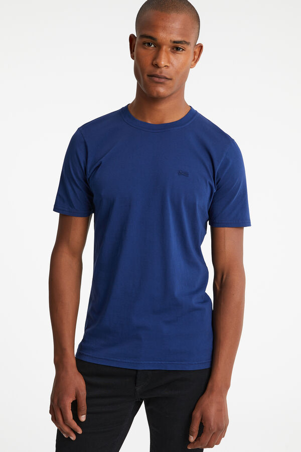 CREW TEE Cotton Jersey - Slim Fit