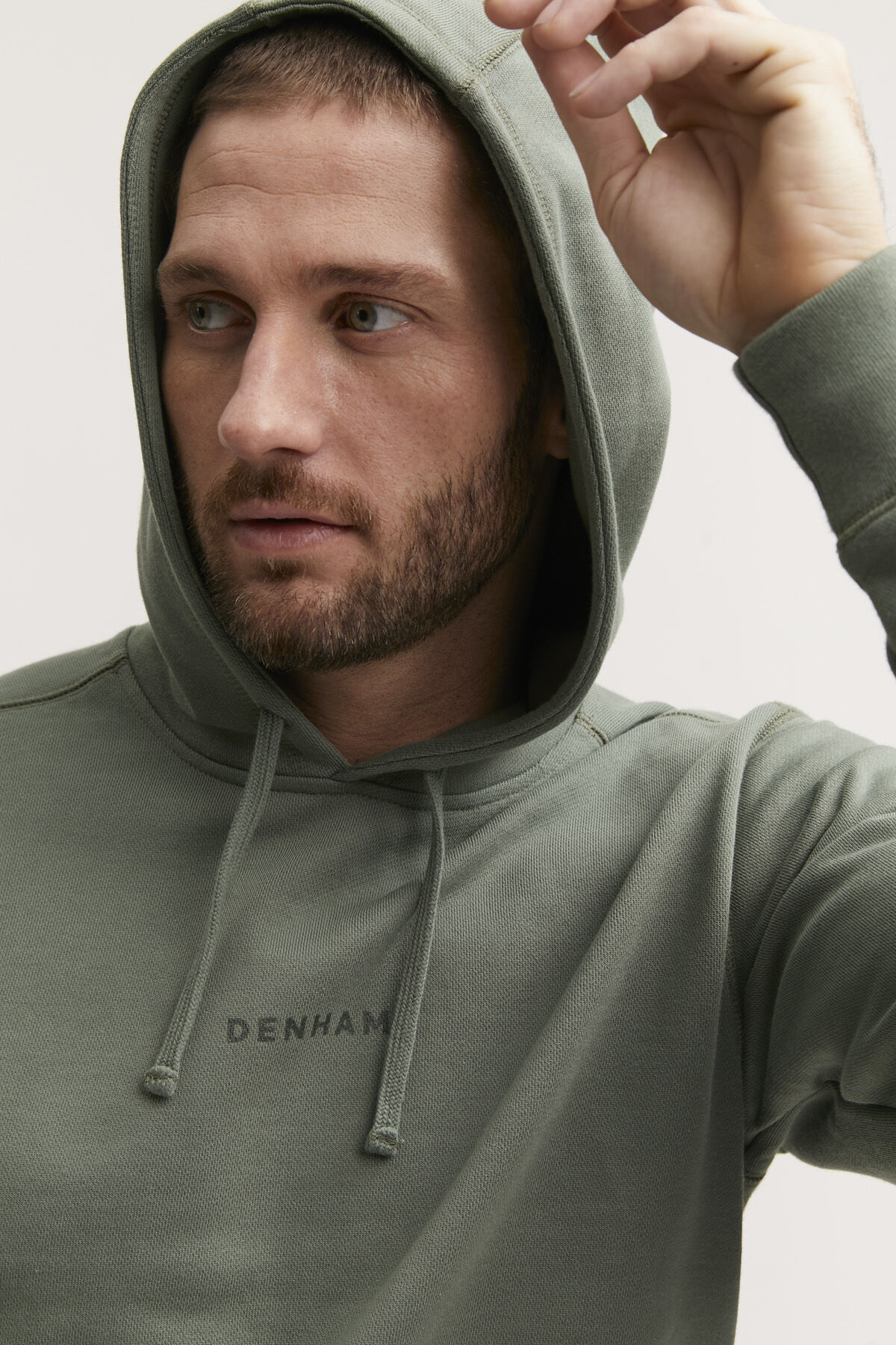 6 OCLOCK HOODY SOFT COTTON FLEECE - SLIM FIT