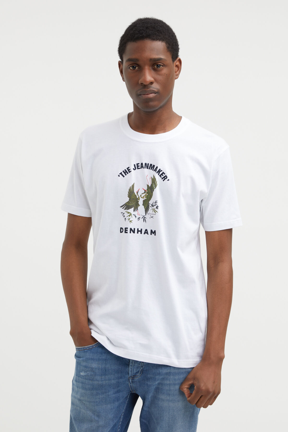 SANDERS TEE Embroidery Patch - Slim Fit