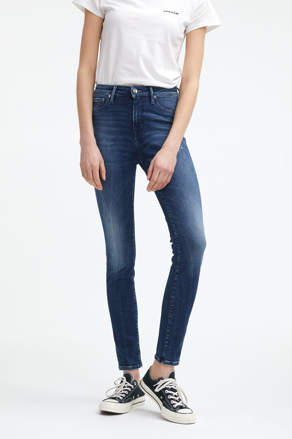 NEEDLE Vintage Rip & Repair - High-rise, Skinny Fit