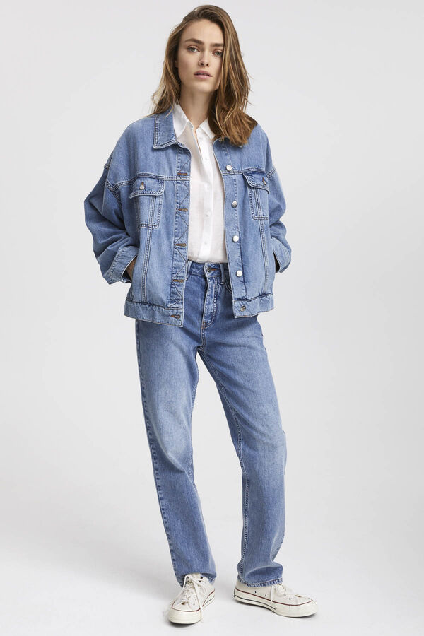 HAMPSTEAD JACKET Authentic Denim - Oversized Fit