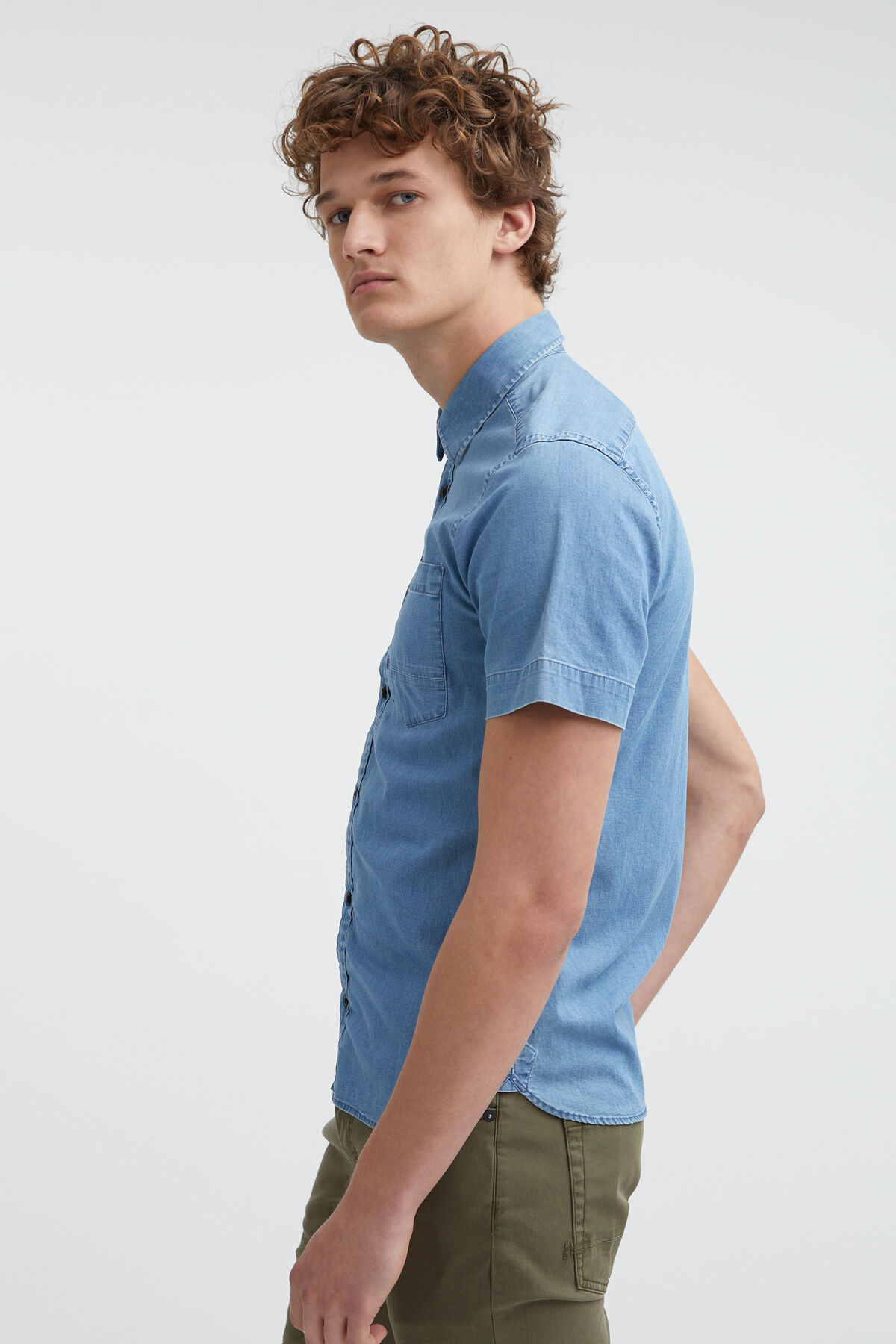 AXEL SHIRT SS Short Sleeves - Slim Fit