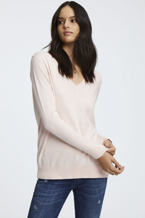 TAYLOR V-NECK Pure Cotton - Oversized Fit