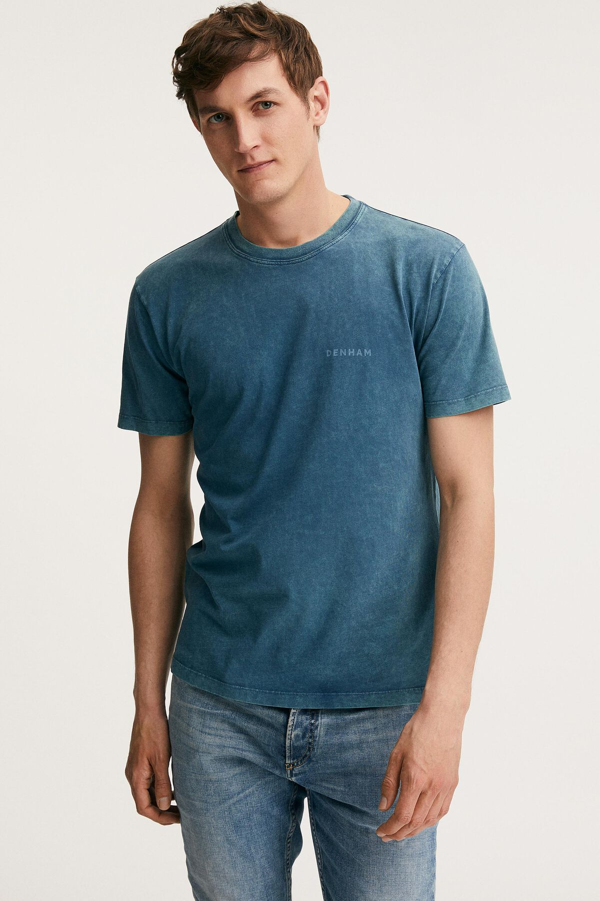 BAKER REGULAR TEE Sky Bleached - Regular Fit