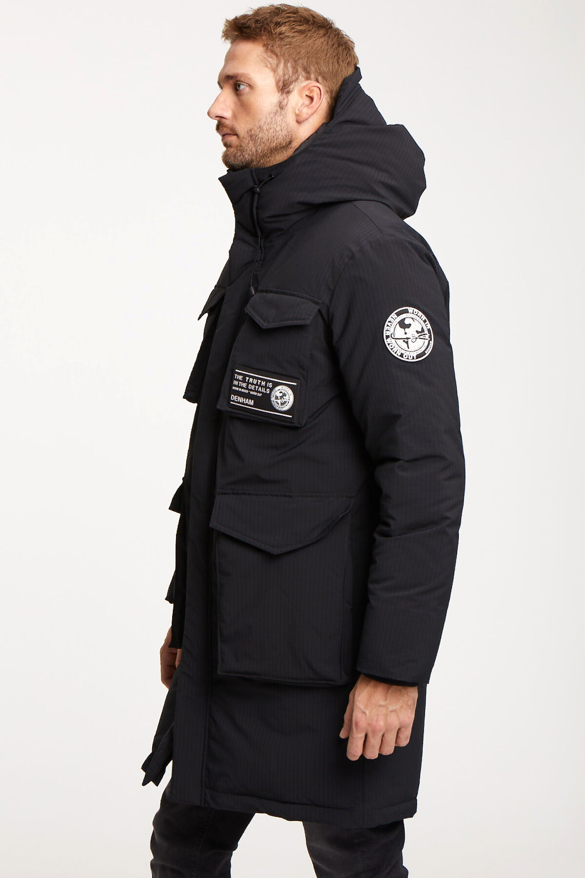 ARCADIA Parka Recycled Polyester & Recycled Down Lining - Regular Fit
