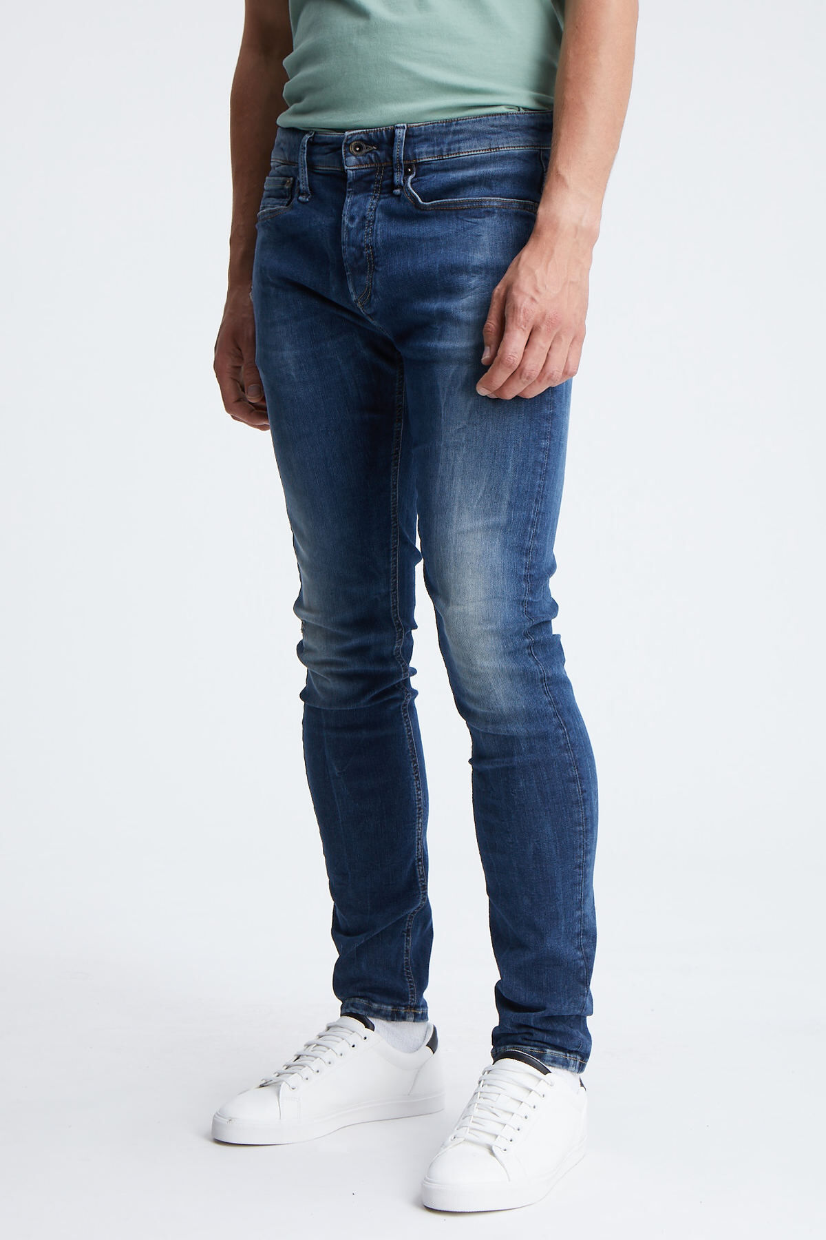 BOLT Classic Indigo Denim - Skinny Fit