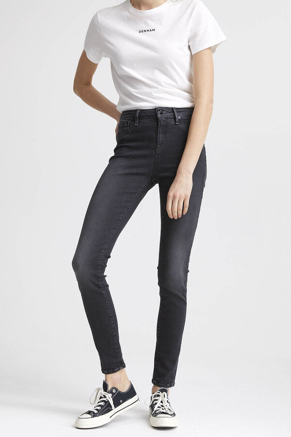 NEEDLE Indigo Dipped Denim - High-rise Skinny Fit