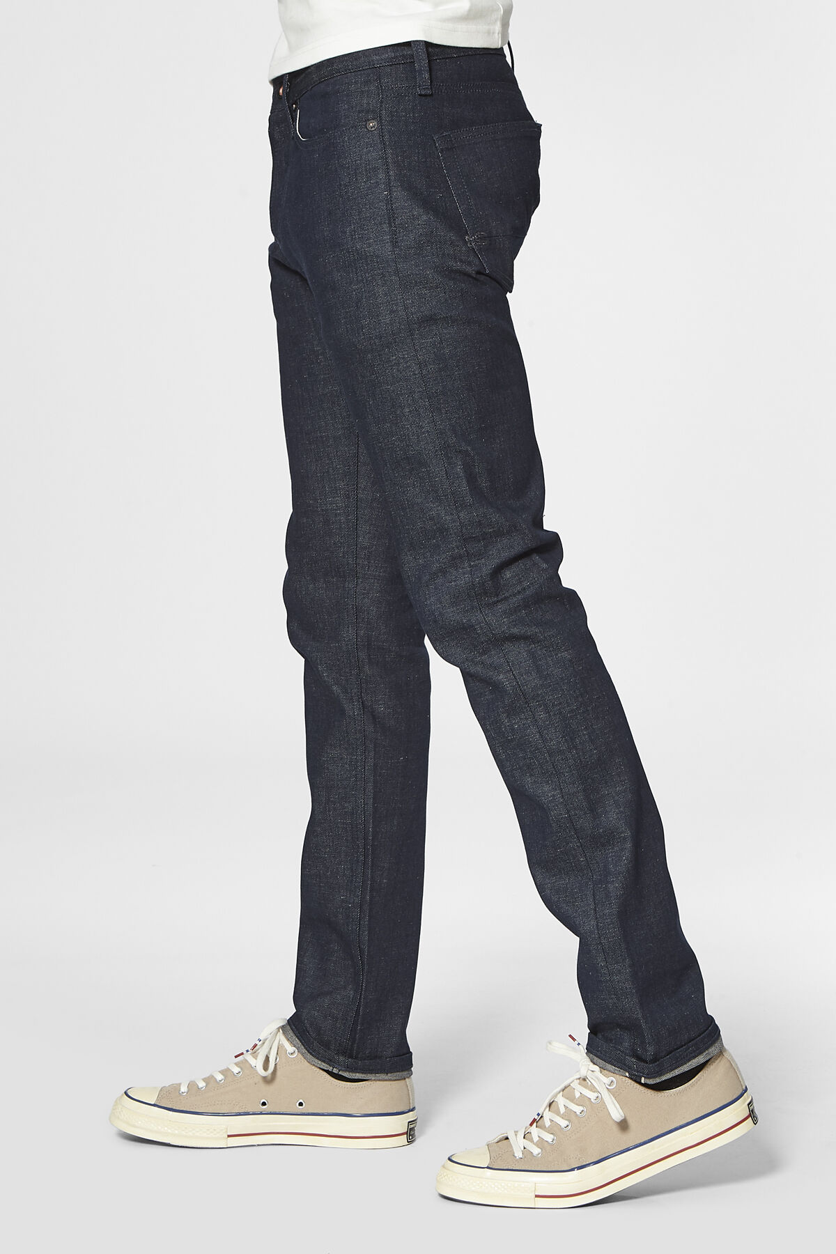 RAZOR Virgin Linen Selvedge Denim - Slim Fit