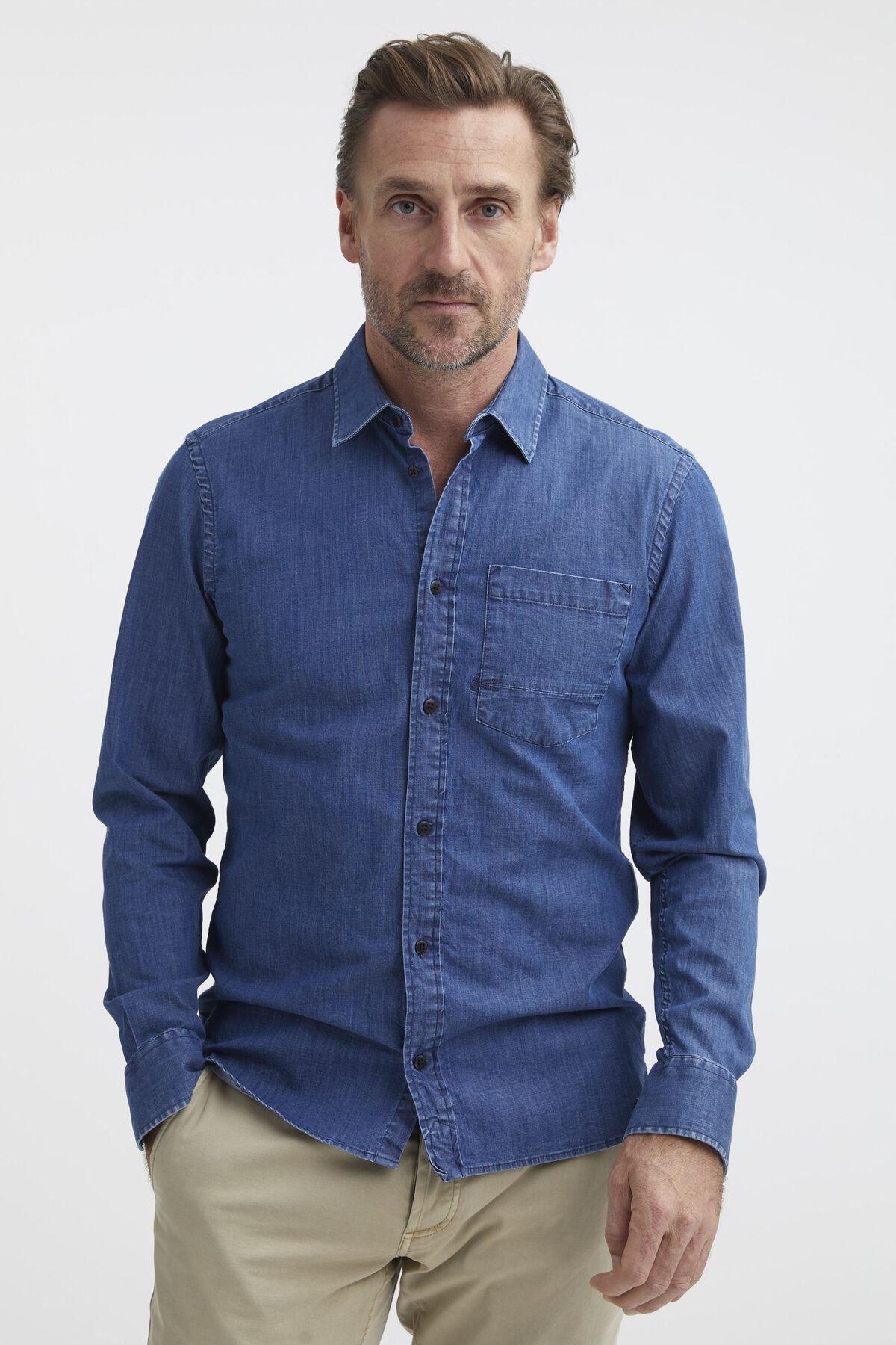 AXEL SHIRT Lightweight Denim - Slim Fit