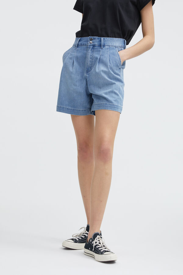 SOPHIA SHORT Cotton & Tencel Blend