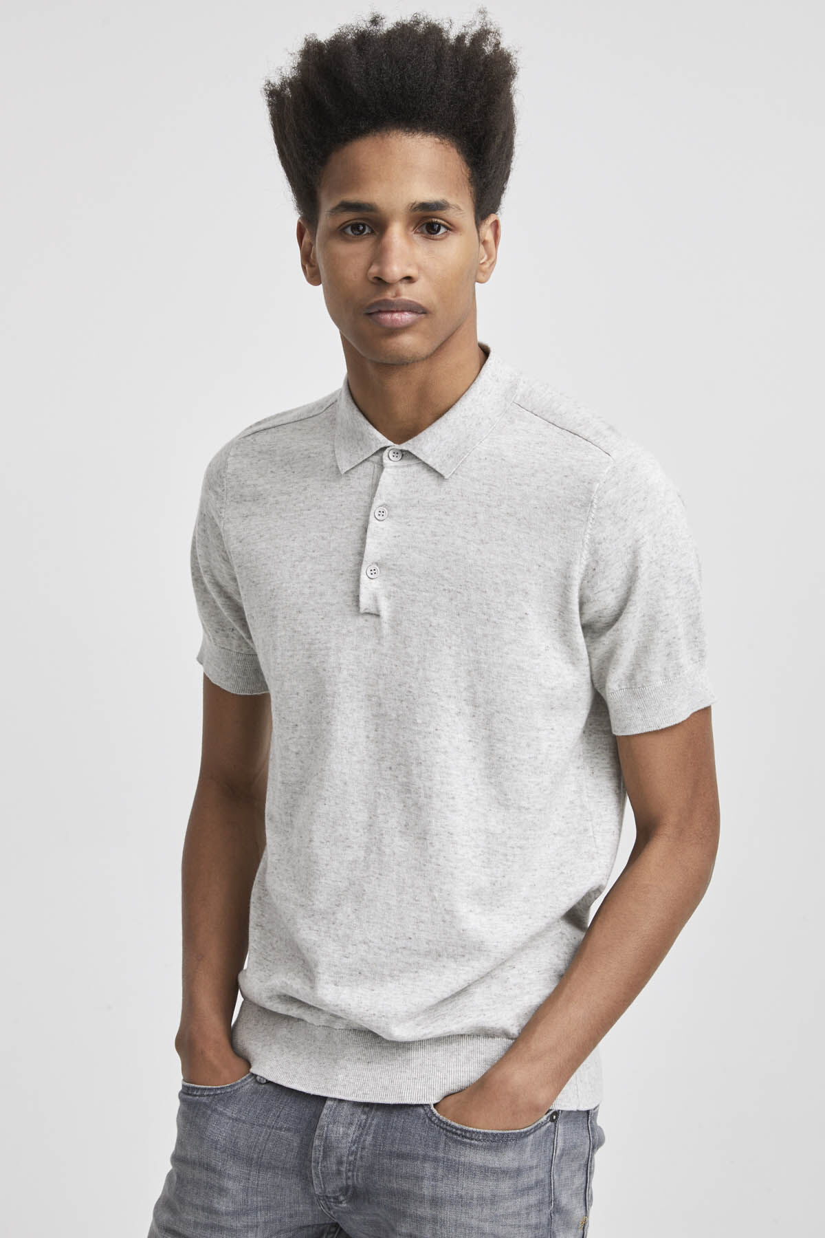 CADET POLO Cotton Jersey - Slim Fit