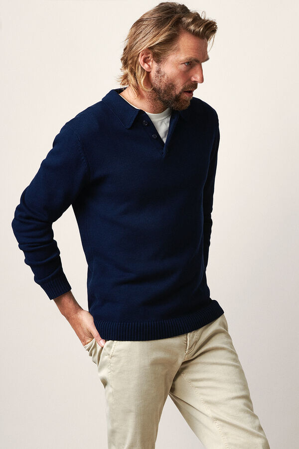 ROYAL POLO Knitted cotton - Slim Fit