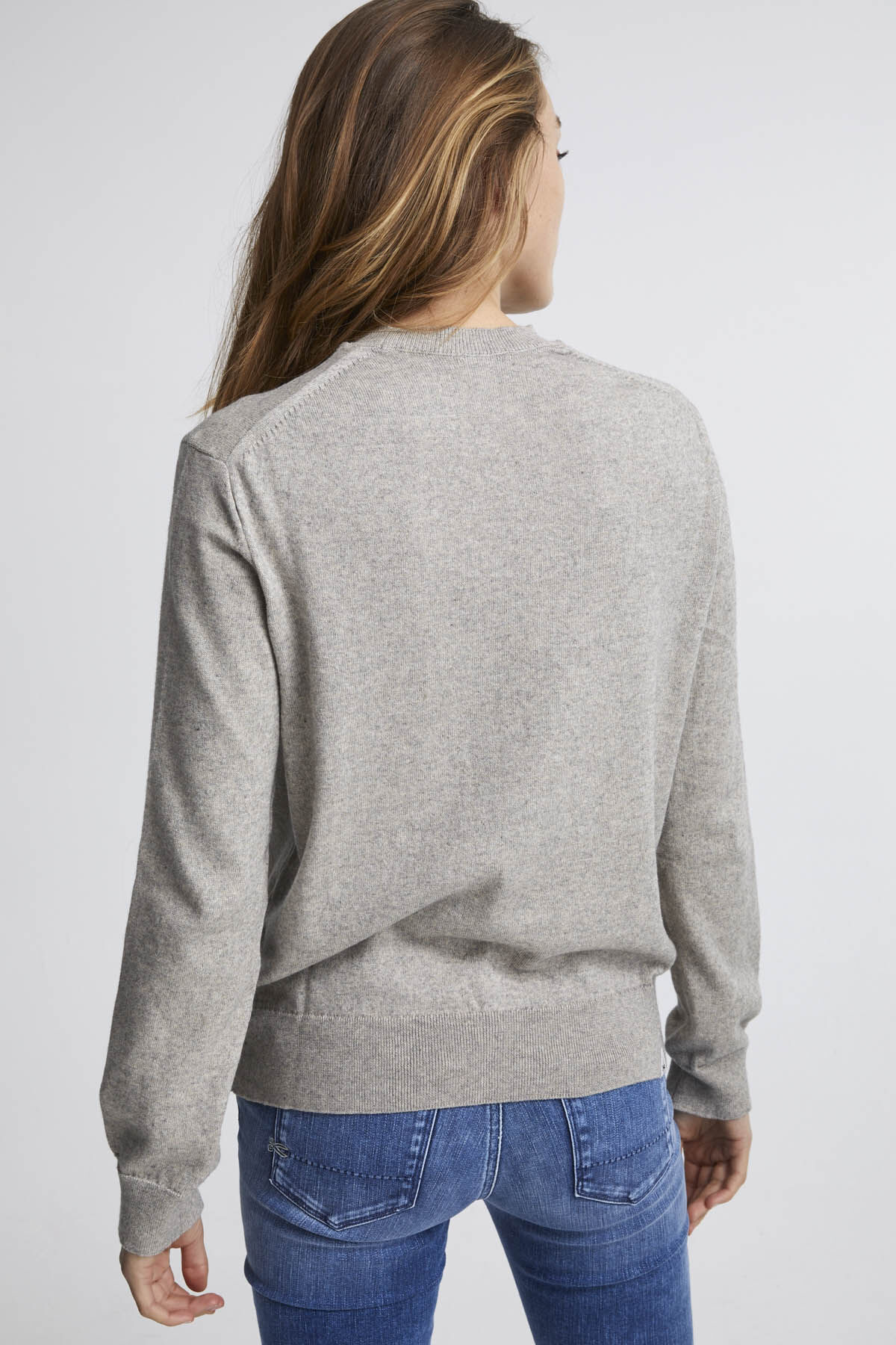 TAYLOR CREW NECK Brushed Jersey - Oversized Fit