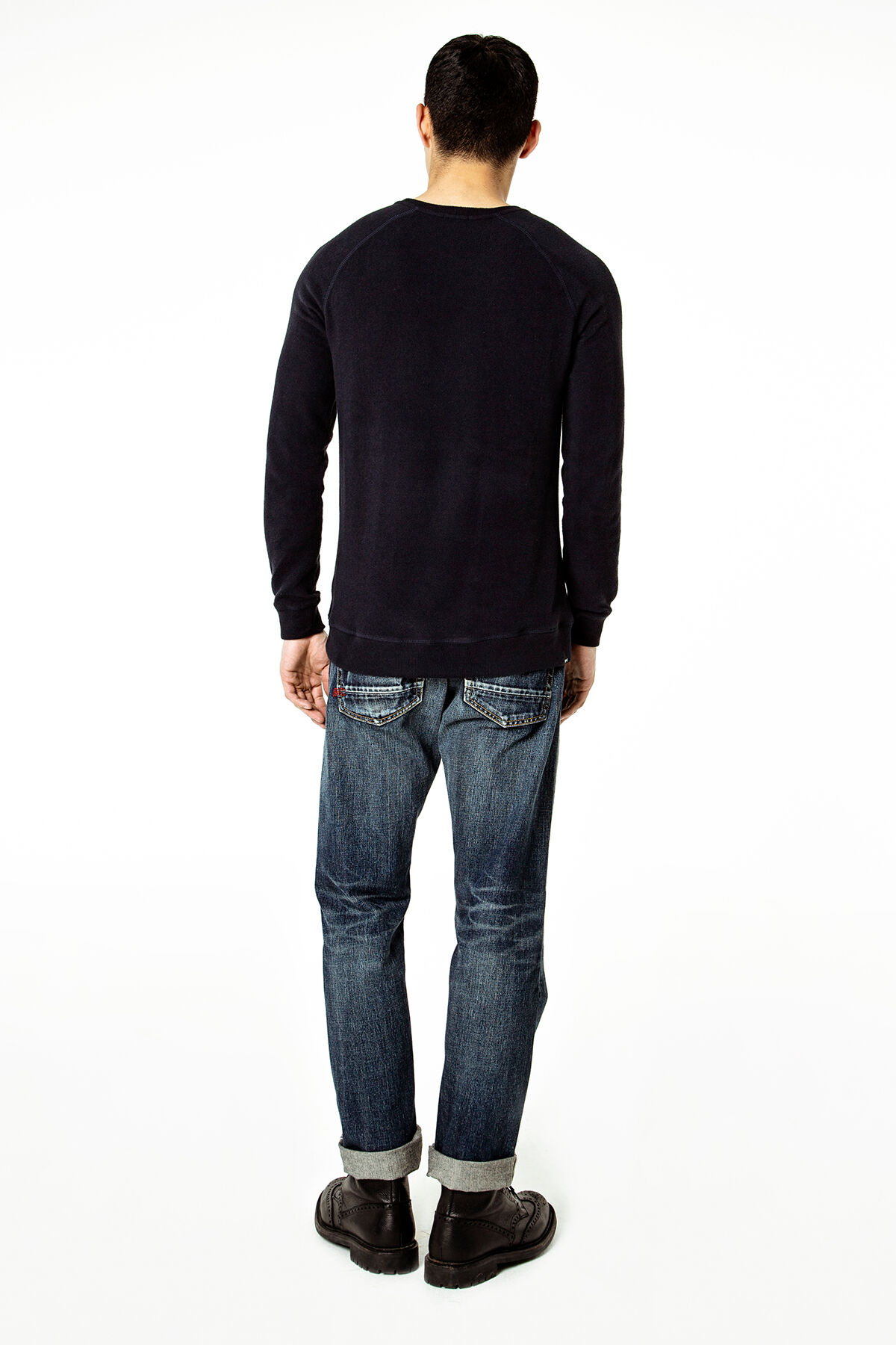 FORGE Dark aged washed Indigo - Relaxed Fit