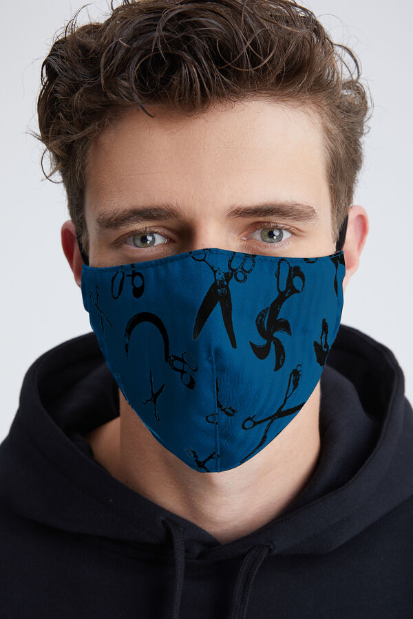 DENHAM SCISSOR MASK ALL-OVER PRINT