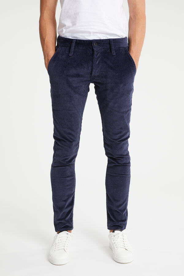 YORK Coloured Corduroy - Slim, tapered Fit