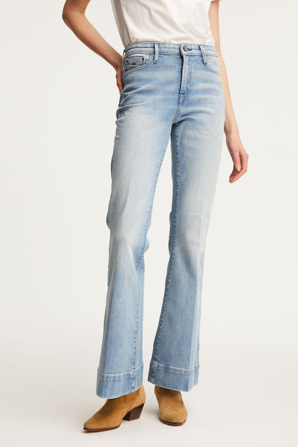 JANE Vintage '80s Indigo Denim - Flare Fit