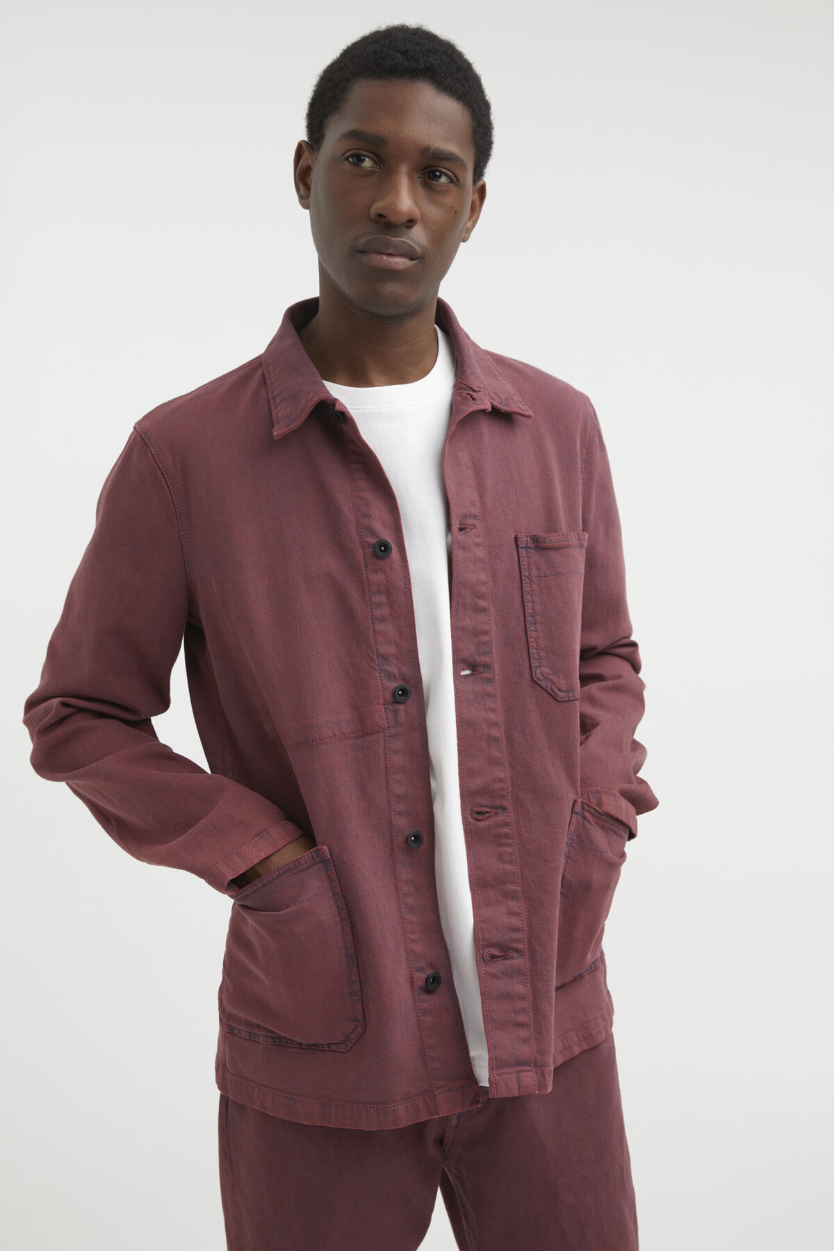 MAO JACKET Organic Cotton - Slim Fit