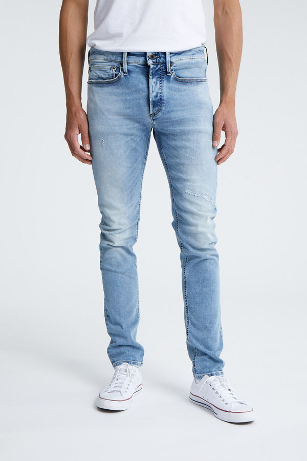 BOLT Four-Year Faded Indigo Denim - Skinny Fit