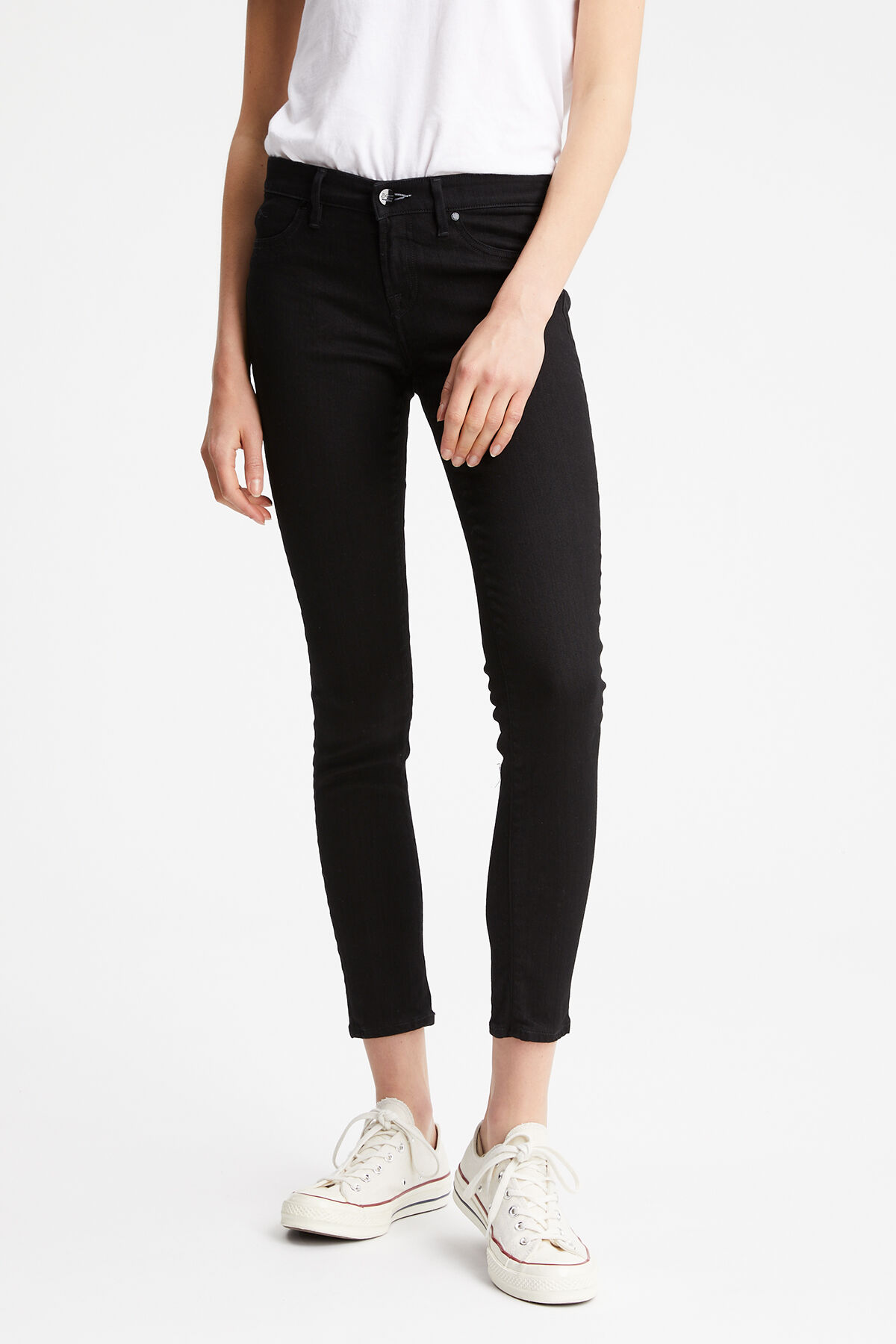 SPRAY Black low impact wash - Mid-rise Tight Fit