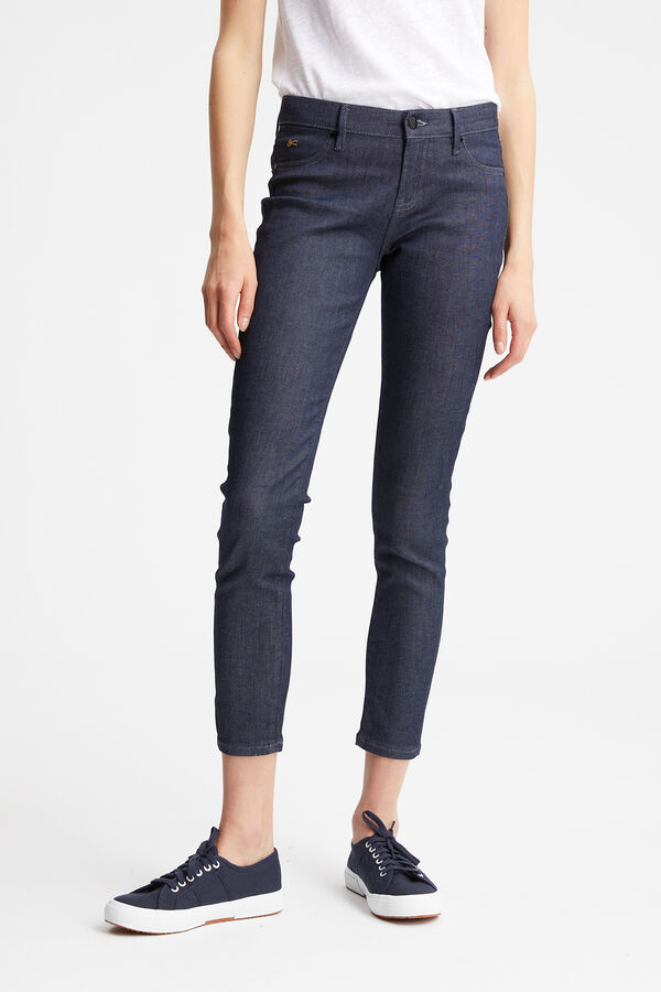 SPRAY Indigo Rinse Washed - Mid-rise, Tight Fit