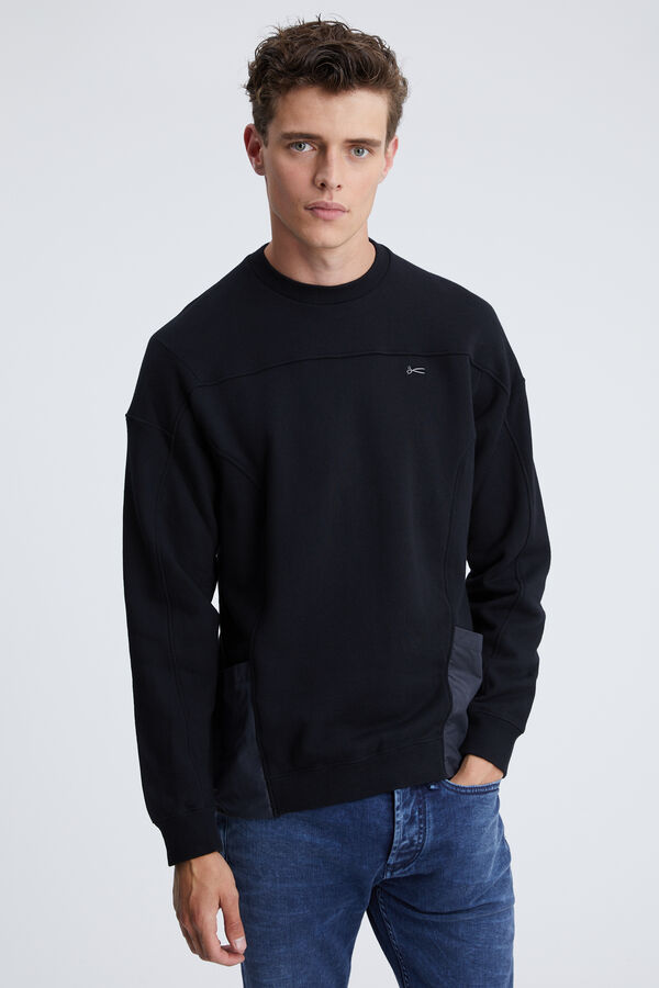 CONSTRACTED SWEATSHIRT Pure Cotton - Collab