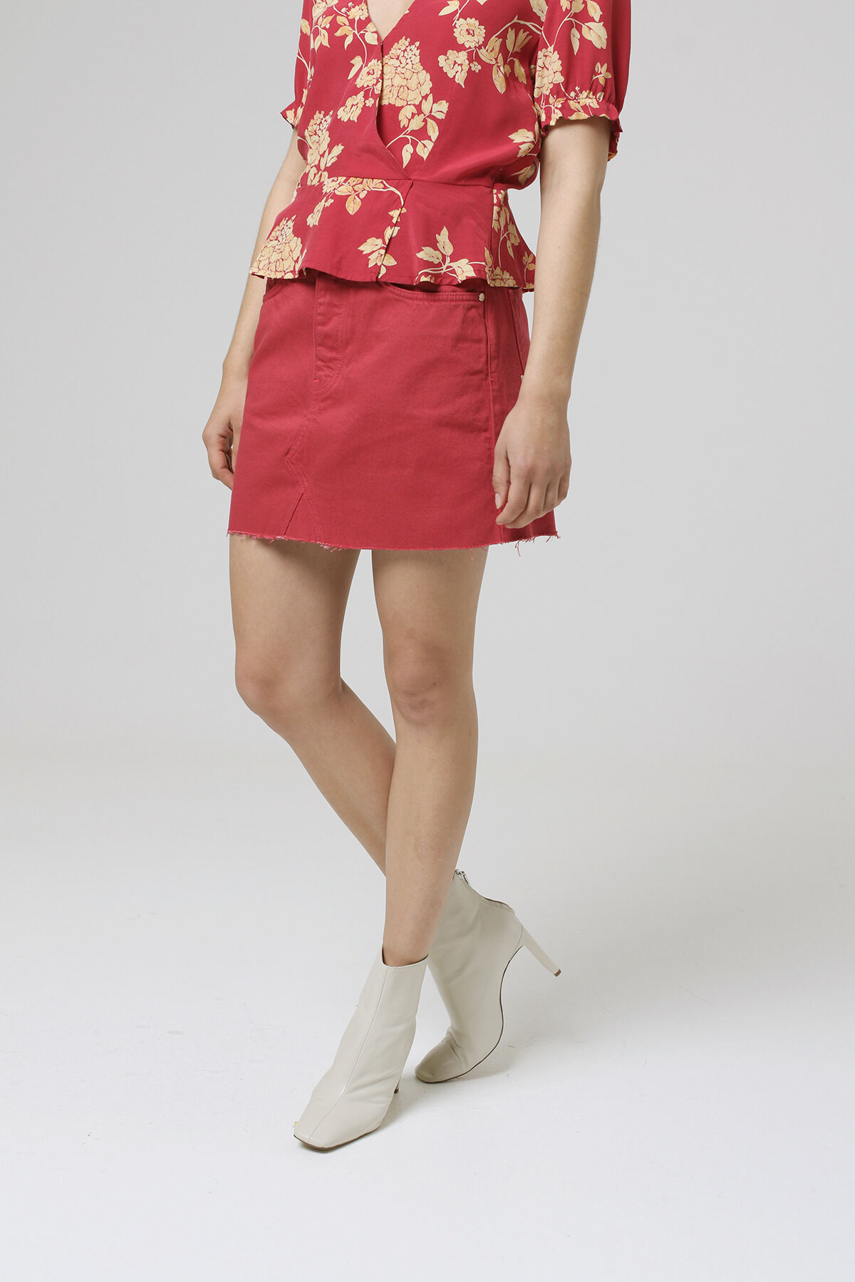 PEARL SKIRT Pure cotton - Mini