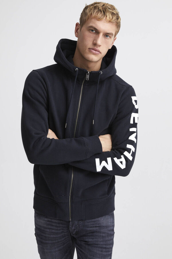 MEDAL HOODY Bien Stripe Fleece - Regular Fit