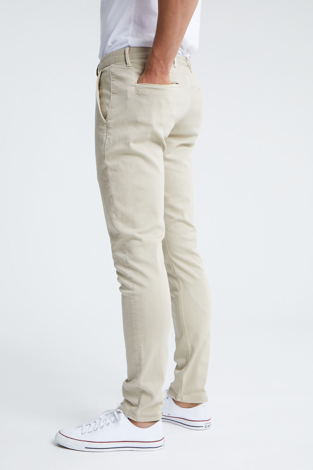RAZOR CHINO Cotton & Tencel Blend - Slim Fit