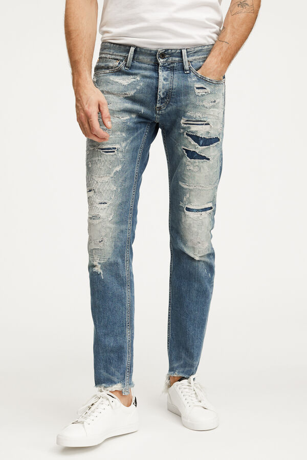 RAZOR 8-Year Repair Selvedge Denim - Slim Fit