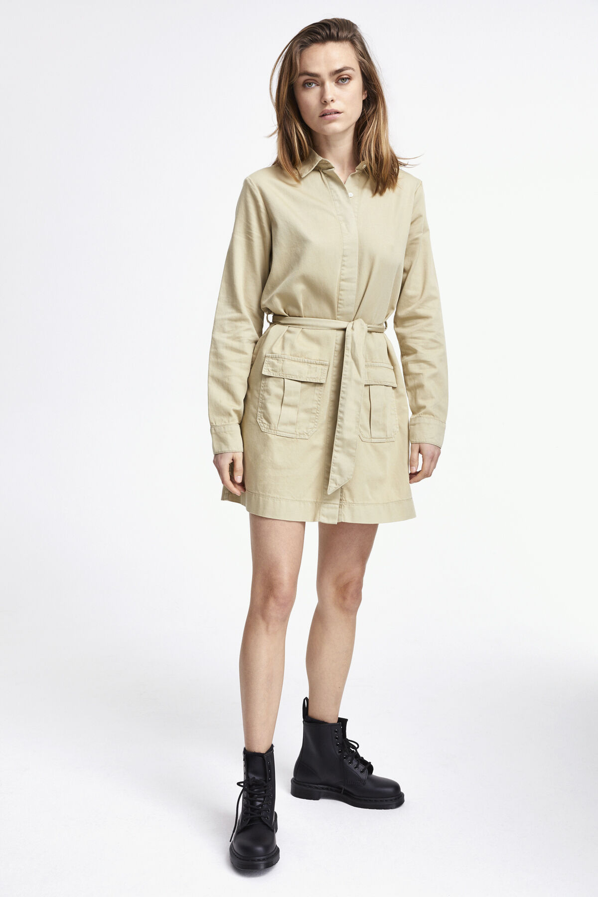HEREFORD SHIRT DRESS Cotton Twill - Mini