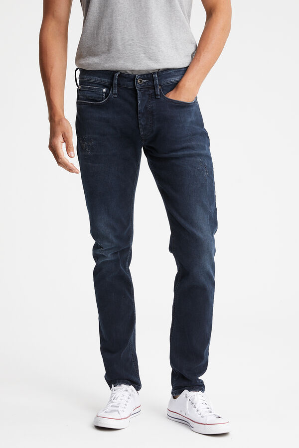 BOLT Dark aged-denim - Skinny Fit
