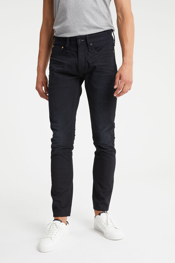 RAZOR One Year Black Denim - Slim Fit