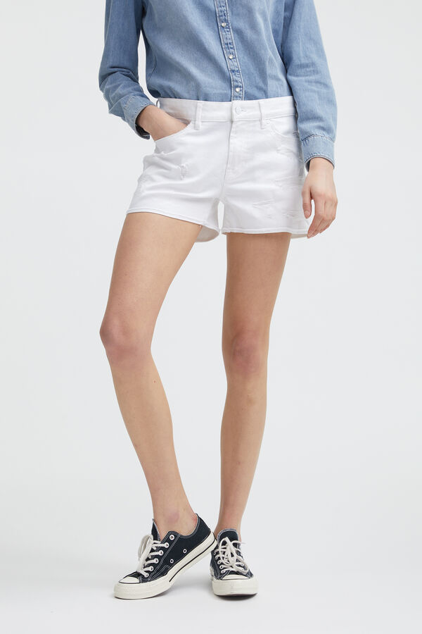 MONROE SHORT Lightweight Denim