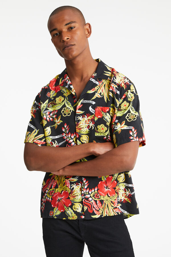 BOWLING SHIRT Floral print - Oversized Fit