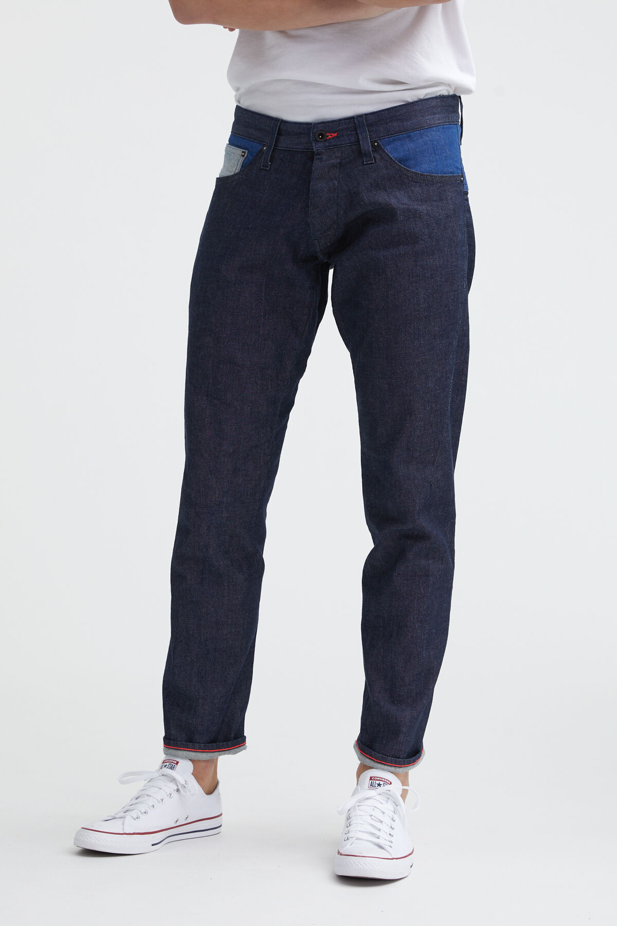 KINETIC 90MIX Sustainable deinim - Wide, Tapered Fit