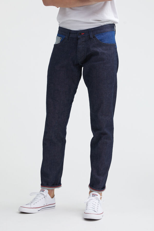KINETIC 90MIX Indigo Sustainable Denim - Wide, Tapered Fit