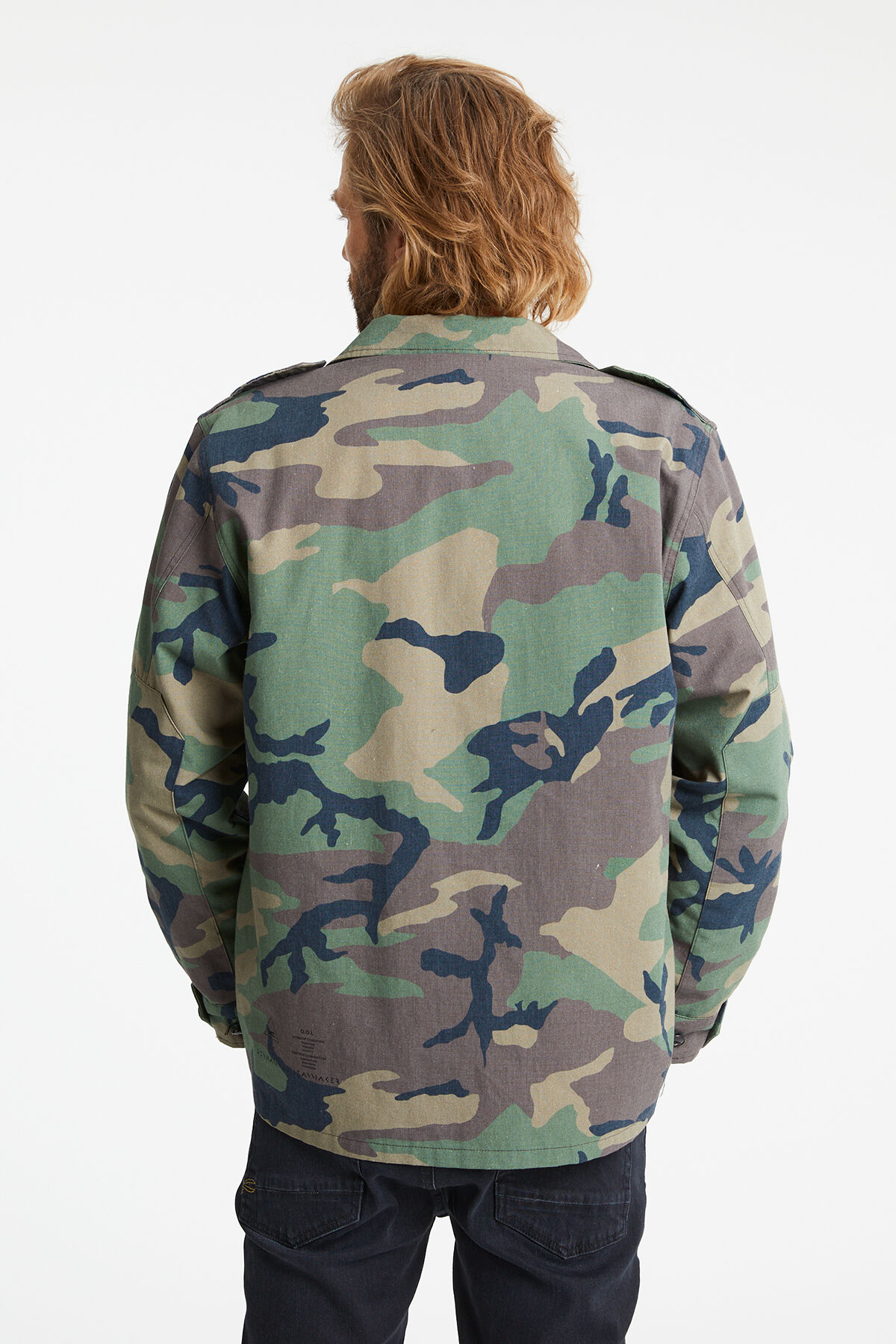 AINSLEY COMBAT JACKET Camouflage Print - Boxy Fit