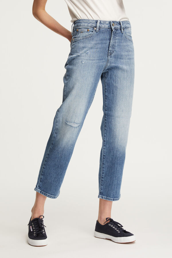 BARDOT STRAIGHT Five-Year Indigo Denim - High-Rise, Straight Fit