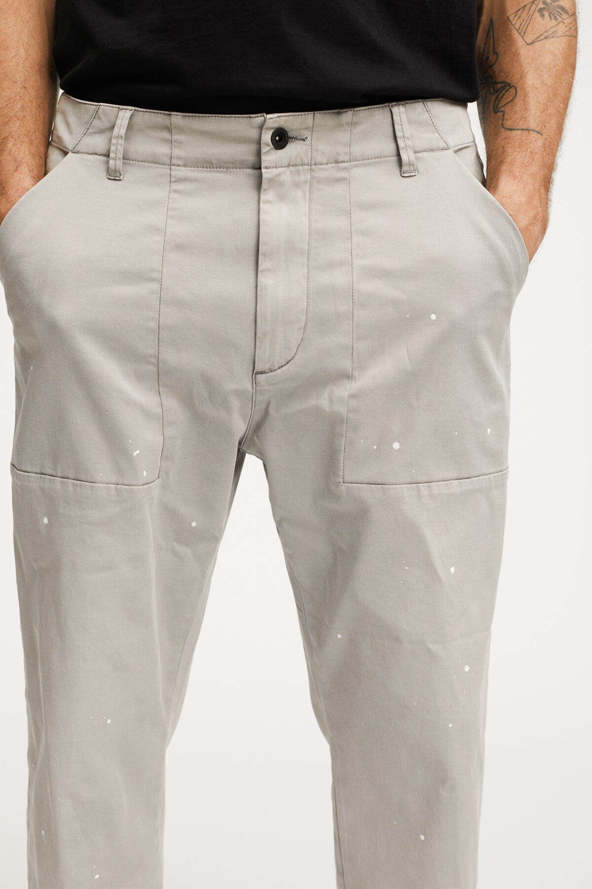 FATIGUE TROUSERS LEFTHAND COTTON TWILL - WIDE FIT