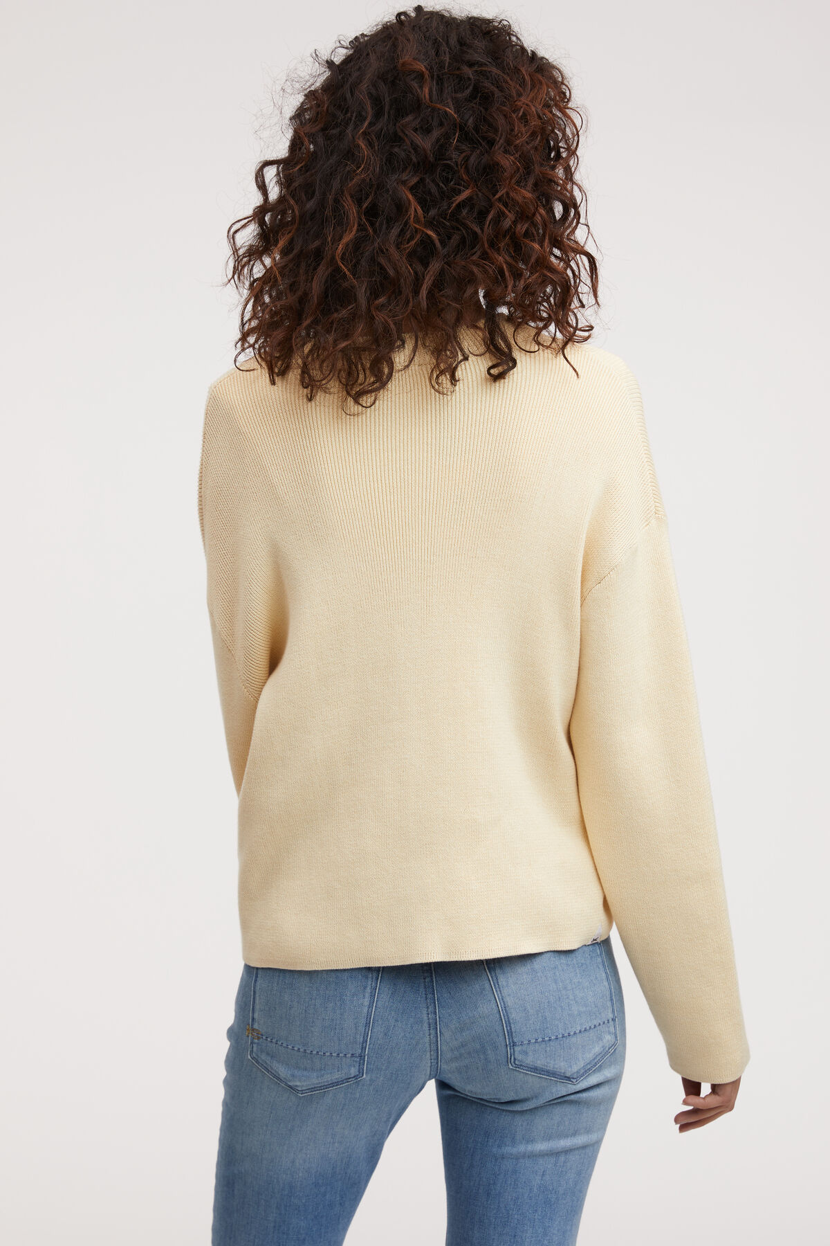 ISABELLE CARDIGAN Cotton Rib Knit - Regular Fit