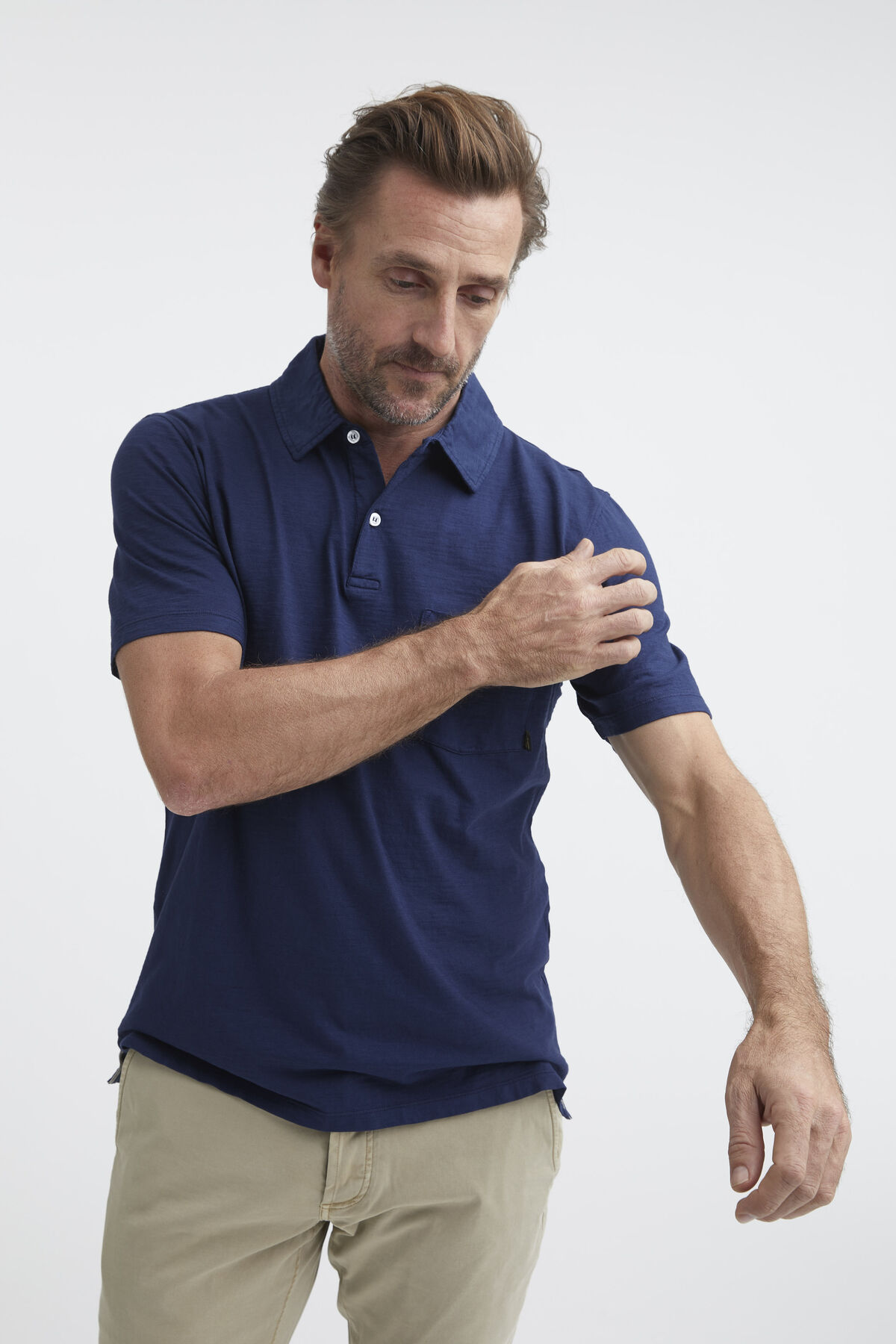 LLOYD POLO Slub Cotton - Regular Fit