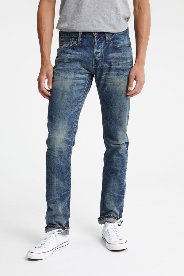 RAZOR Indigo Selvedge Denim - Slim Fit